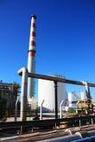 Industrielle Rohre Stockfoto