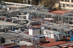 Industrielle Rohre II Stockfoto