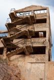 Industrielle Ruine Stockfotografie