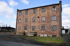 Industrielle Ruine Stockbild