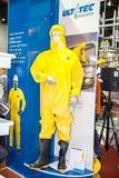 Industrielle schützende hazmat Klage Lizenzfreies Stockfoto