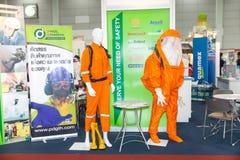 Industrielle schützende hazmat Klage Stockbild