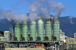 Industrielle Site Stockfotografie