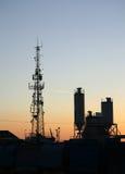 Industrielle Skyline Stockfoto