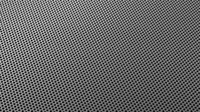 Industrielle Stahleisen-Löcher Metall kopieren, isometrisches Silber zu sieben stockbild