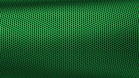 Industrielle Stahleisen-Löcher Metall kopieren Sieb-Grün lizenzfreie stockfotos