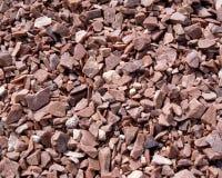 Industrielle Steinbrüche Stockfotografie