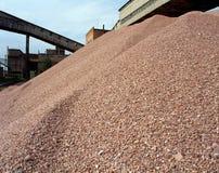 Industrielle Steinbrüche Stockbild