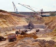 Industrielle Steinbrüche Lizenzfreies Stockfoto