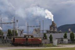Industrielle Szene Lizenzfreie Stockfotografie