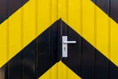 Industrielle Tür Stockbild