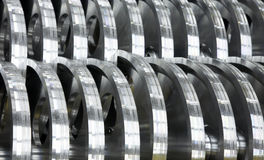 Industrielle Teile Lizenzfreies Stockfoto