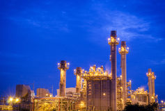 Industrielle Triebwerkanlage Stockfotografie