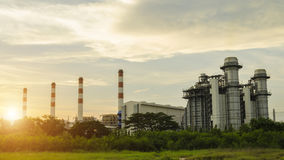 Industrielle Triebwerkanlage Stockbilder