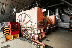 Industrielle Turbine lizenzfreie stockbilder