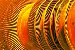 Industrielle Turbine stockfotos