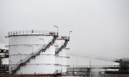 Industrielle Vorratsbehälter Stockbild