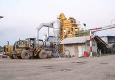 Industrielle Zerkleinerungsmaschine Stockfoto