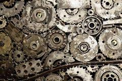 Industrieller abstrakter Hintergrund Stockfoto