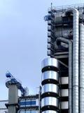 Industrieller Aufbau Stockbild