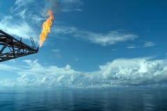 Industrieller Aufflackern-Boom Lizenzfreies Stockbild