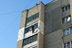 Industrieller Bergsteiger Stockbilder
