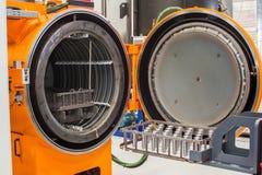 Industrieller Brennofen für Metall lizenzfreie stockfotos