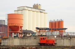 Industrieller Hafen Lizenzfreie Stockfotos