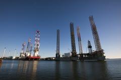 Industrieller Hafen Esbjerg Lizenzfreie Stockfotos