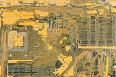 Industrieller Hightech- elektronischer Hintergrund Stockbilder
