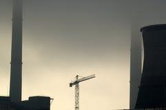 Industrieller Himmel Stockfotos