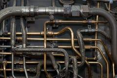 Industrieller Hintergrund Stockfotografie