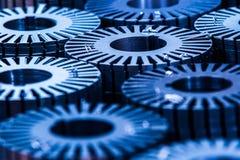 Industrieller Hintergrund Lizenzfreie Stockfotos