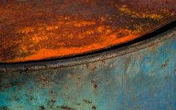 Industrieller Hintergrund mit den warmen und kalten Abschnitten lizenzfreie stockfotografie