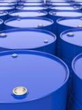 Industrieller Hintergrund mit Fässern. lizenzfreie stockfotos