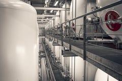 Industrieller Innenraum Stockbilder