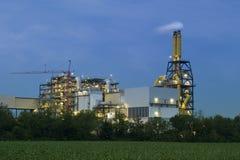 Industrieller Komplex Stockfoto