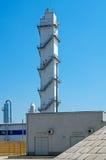 Industrieller Kontrollturm Lizenzfreies Stockfoto