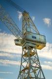 Industrieller Kran Lizenzfreies Stockfoto