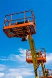 Industrieller Mann-Aufzug Lizenzfreies Stockbild