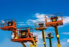 Industrieller Mann-Aufzug Lizenzfreie Stockbilder