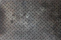 Industrieller metallischer Boden Stockfotos