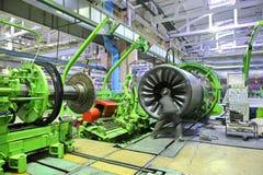 Industrieller Platz Stockfoto