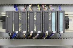 Industrieller PLC lizenzfreies stockbild