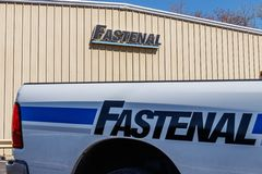 Industrieller Produkt und Service-Verteiler Fastenal Fastenal hat Einzelhandelsgeschäfte in jedem US-Staat ich stockbilder