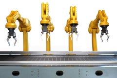 Industrieller Roboterarm Lizenzfreie Stockbilder