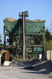 Industrieller Sand- und Klebermischer Lizenzfreies Stockbild