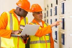 Industrieller Schaltkasten Lizenzfreie Stockbilder