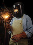 Industrieller Schweißer Lizenzfreies Stockbild