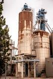 Industrieller Silo Lizenzfreies Stockbild